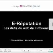 La présentation E-Réputation au salon E-Marketing